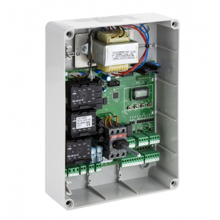 Control unit with door-lock safety