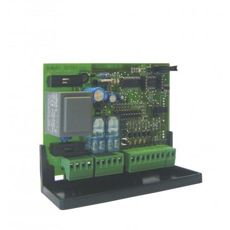 Central para motores para cierres metálicos con radio receptor incorporado